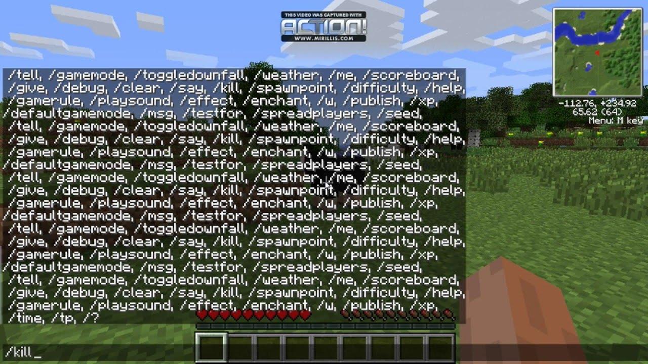 สูตร Minecraft