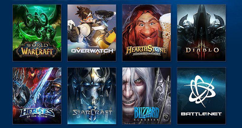 เกมขายดี จากค่าย Blizzard Entertainment
