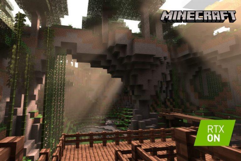 Minecraft สามารถรองรับกราฟฟิก Ray-Tracing เรียบร้อยแล้ว