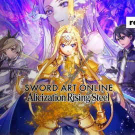 เกมมือถือใหม่ล่าสุด Sword Art Online : Alicization Rising Steel